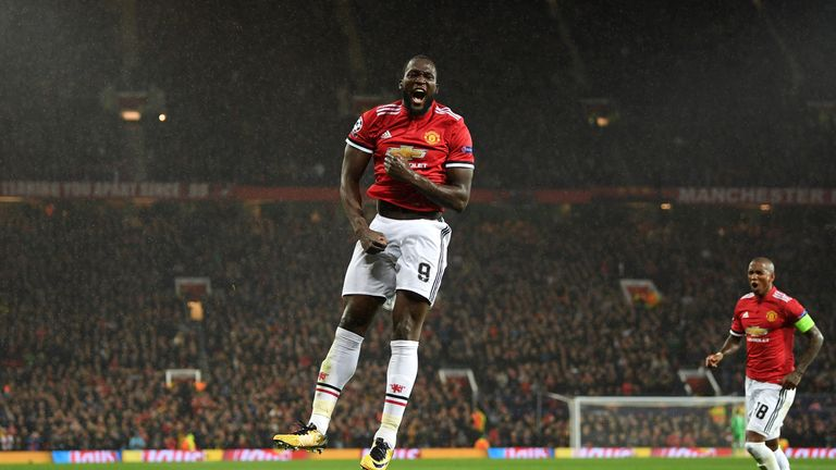 Romelu Lukaku has scored six goals in six games for Manchester United