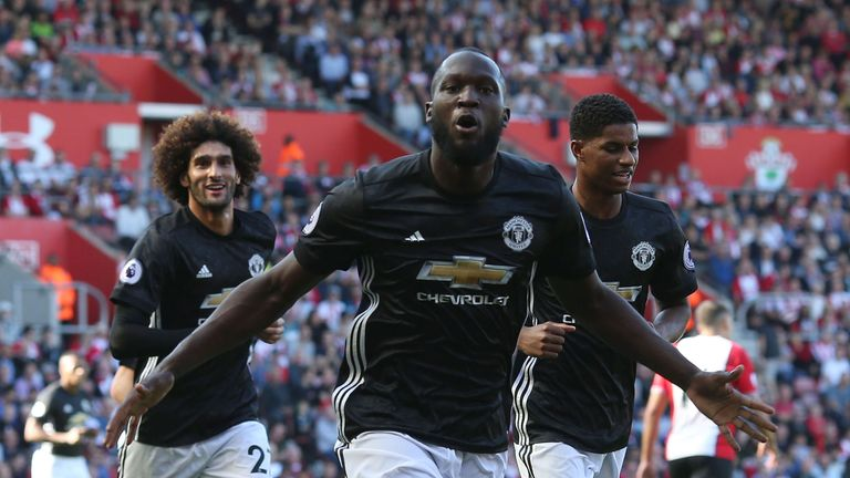 Romelu Lukaku scored the winner for Man Utd on Saturday at Southampton