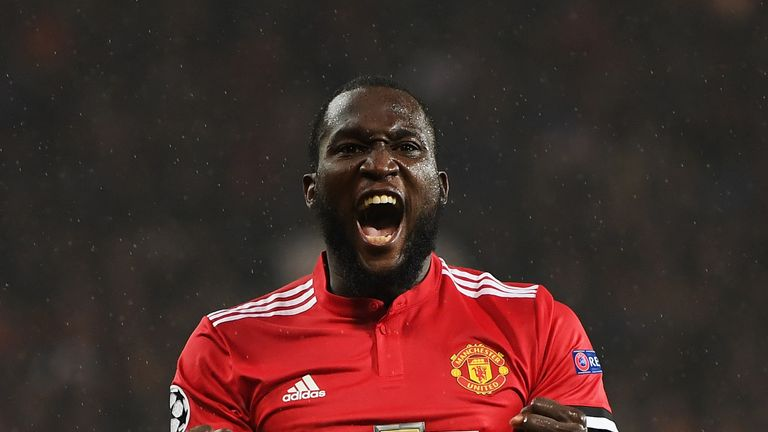 Romelu Lukaku will come up against his former club Everton on Sunday