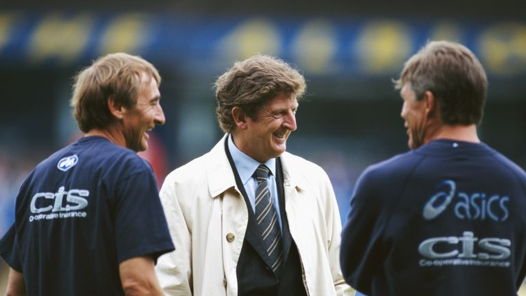 Roy Hodgson took over at Blackburn Rovers in 1997