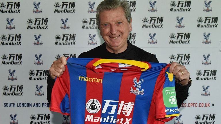 Crystal Palace have confirmed Roy Hodgson as their new manager (Pic courtesy of Crystal Palace)