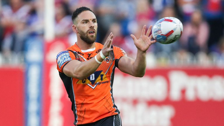 Castleford half-back Luke Gale may be in action on Thursday night