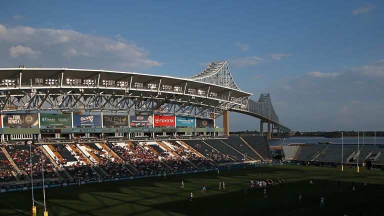 Newcastle 'hosted' the fixture at Talen Energy Stadium in Philadelphia