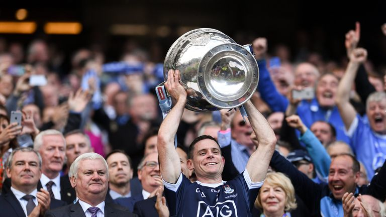 Dublin captain Stephen Cluxton is joined on a four-man shortlist for Footballer of the Year by teammate James McCarthy and Mayo pair Andy Moran and David Clarke