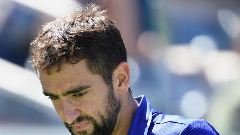 Marin Cilic suffered a shock US Open exit to Diego Schwartzman