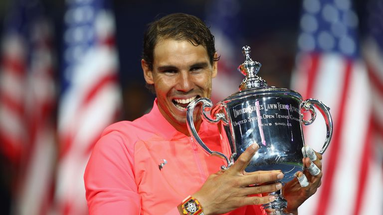 Rafael Nadal won his 16th Grand Slam title with victory at the US Open
