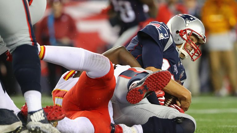The Patriots suffered a shock defeat to the Chiefs on the opening night of the new season