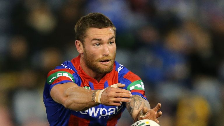 Tyler Randell has joined Wakefield from the Newcastle Knights