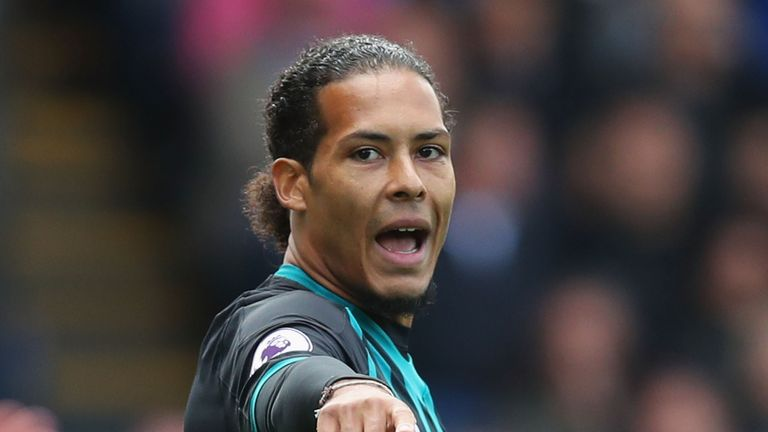 Southampton's Virgil van Dijk is in the Netherlands squad