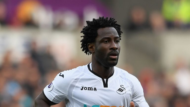 Will Wilfried Bony start for Swansea?