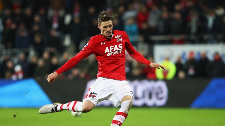Wout Weghorst had an eventful game against Willem II