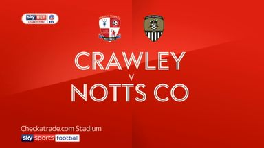 Crawley 0-1 Notts County