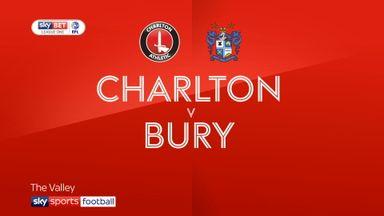 Charlton 1-1 Bury
