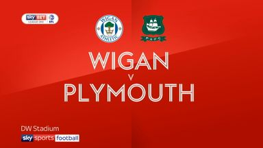 Wigan 1-0 Plymouth