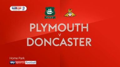 Plymouth 0-3 Doncaster