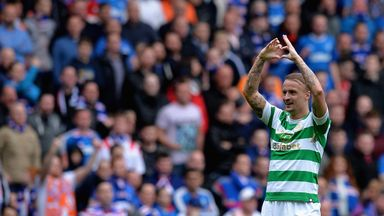 Leigh Griffiths scored Celtic's second goal to hand his side a 2-0 win over Rangers