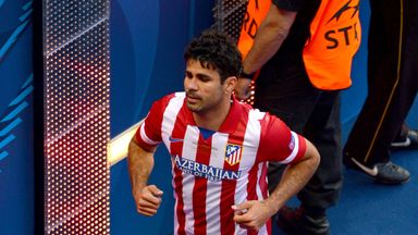 Diego Costa left Atletico Madrid for Chelsea in summer 2014