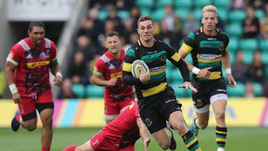 George North will leave Northampton at the end of the season and return to Wales