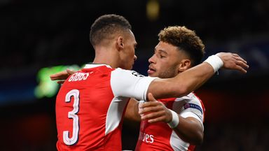 Alex Oxlade-Chamberlain and Kieran Gibbs left Arsenal in the last days of the summer transfer window