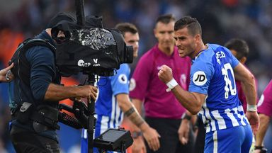 Tomer Hemed's goal secured Brighton a 1-0 win over Newcastle