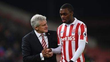Julien Ngoy has signed a new five-year deal with Stoke