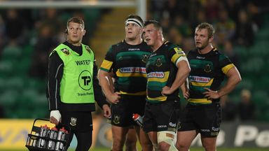Northampton Saints face a tough draw in the Challenge Cup