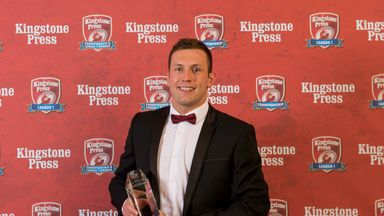 Shaun Lunt has been rewarded for leading Hull KR to promotion from the Championship