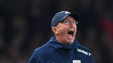 Tony Pulis was in charge at the Hawthorns for almost three years