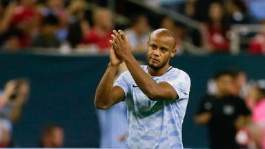 Vincent Kompany could be back in action next Wednesday