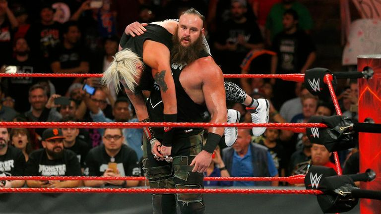 Braun Strowman used Enzo Amore to make a statement ahead of his Universal Championship match against Brock Lesnar this weekend.