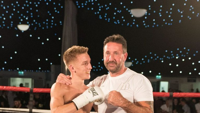 Jack Bateson and his dad have a close understanding in and out of the ring (copyright: Christoper Ellis) DO NOT USE