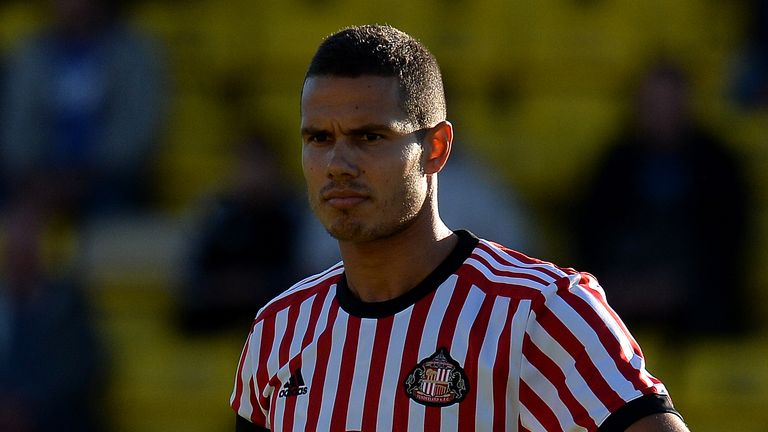 LIVINGSTON, SCOTLAND - JULY 12: Jack Rodwell of Sunderland in action during the pre season friendly between Livingston and Sunderland at Almondvale Stadium