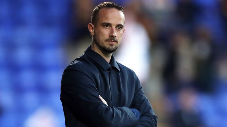 England Women manager Mark Sampson during the FIFA 2019 Women's World Cup qualifer at Prenton Park