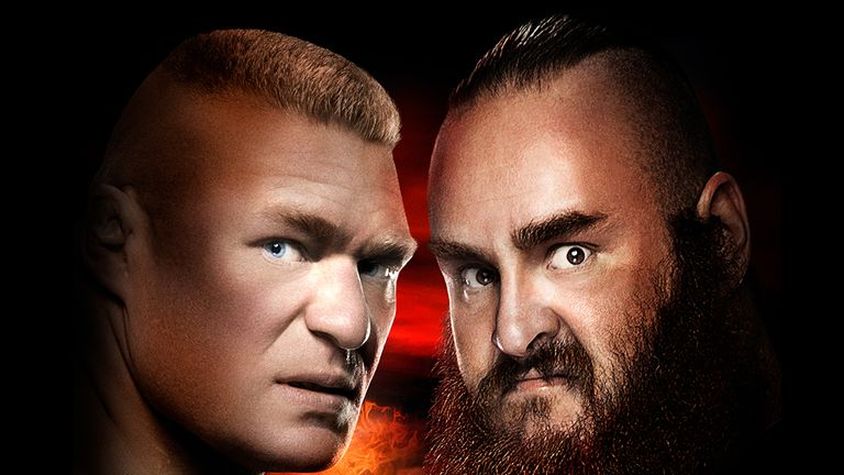 Brock Lesnar v Braun Strowman at No Mercy is live on Sky Sports Box Office.