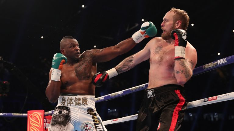 Whyte won clearly on all three judges' scorecards