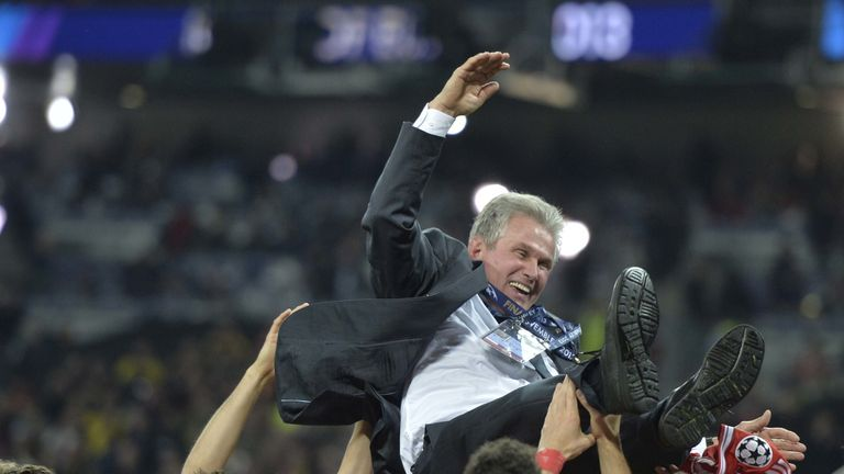 Heynckes won the treble during his last spell in Bavaria