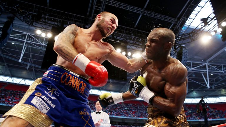Mitchell was successful on Froch-Groves II undercard