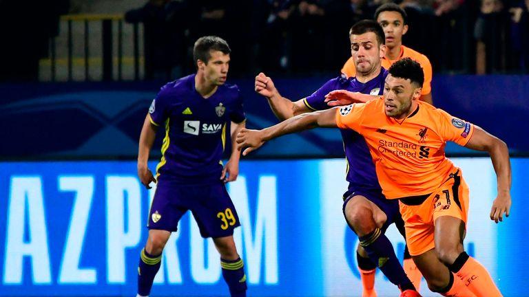 Liverpool beat Maribor 7-0 in the reverse fixture