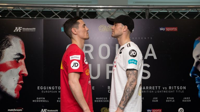 Anthony Crolla faces Ricky Burns this Saturday night, live on Sky Sports