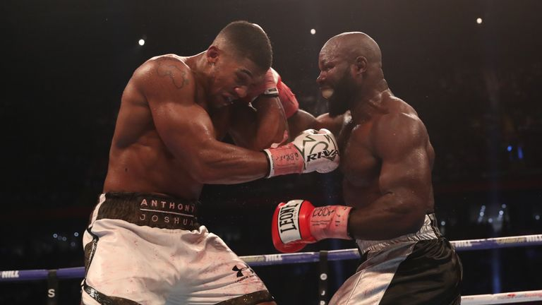 Takam proved his toughness in savage fight with Joshua in Cardiff