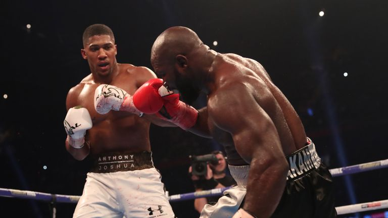 Anthony Joshua reflects on his victory over Carlos Takam