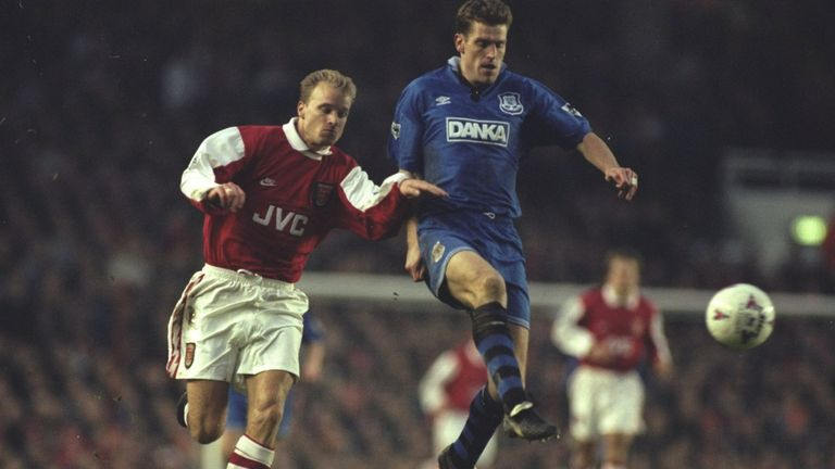 Everton's first Premier League victory over Everton came in 1996