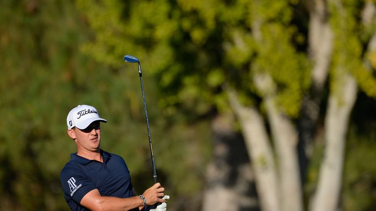 Cauley posted three birdies in a four-hole stretch on the back nine