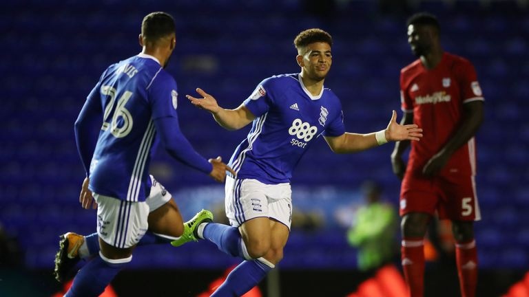 Che Adams will not start Birmingham's FA Cup third-round clash