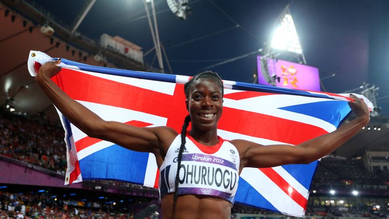 Christine Ohuruogu features in episode 29 of Sky Sports' My Icon series