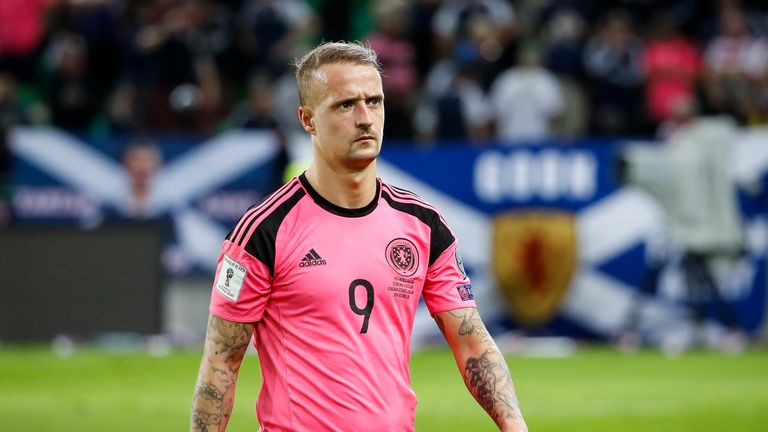 Leigh Griffiths has withdrawn from the Scotland squad
