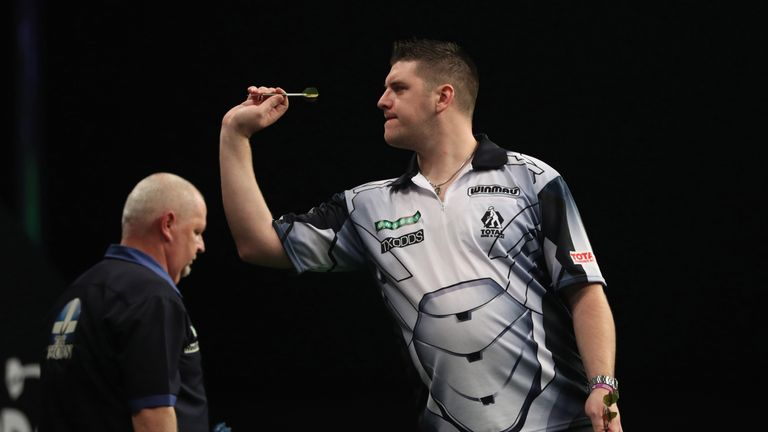 Daryl Gurney is into a third major televised semi-final of the year but is yet to make a final