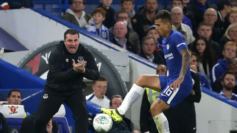 Everton's interim manager David Unsworth is still under consideration