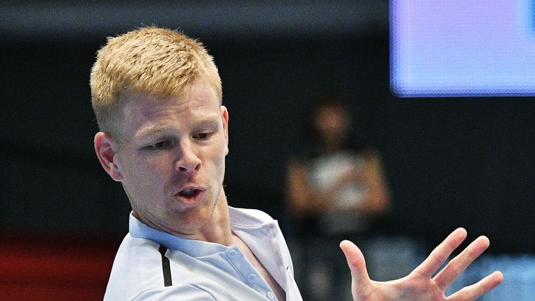 Vienna Open: Kyle Edmund through after grueling match vs. Dennis Novak