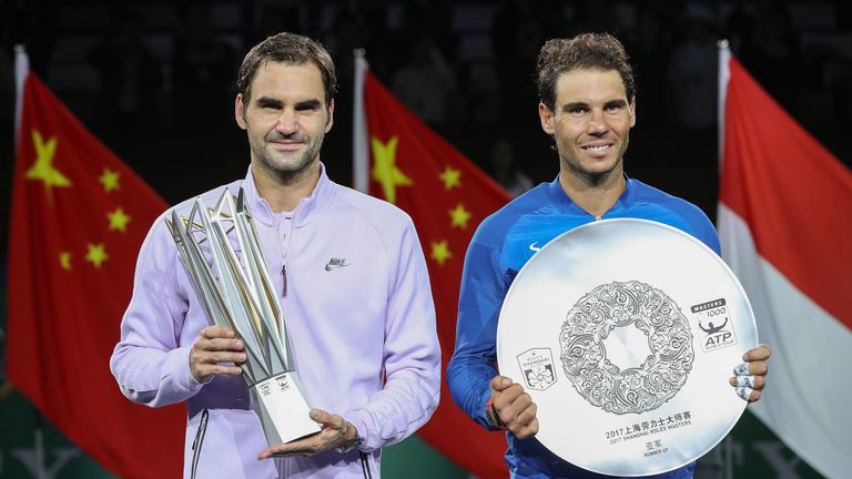 Roger Federer and Rafael Nadal have dominated men's tennis in 2017